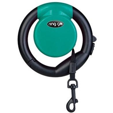 Vitakraft Ring Go Retractable Leash: Turquoise