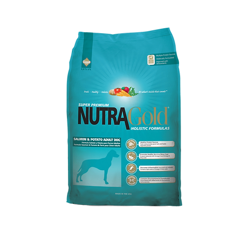 NutraGold: Salmon & Potato Adult Dog (15 kg)