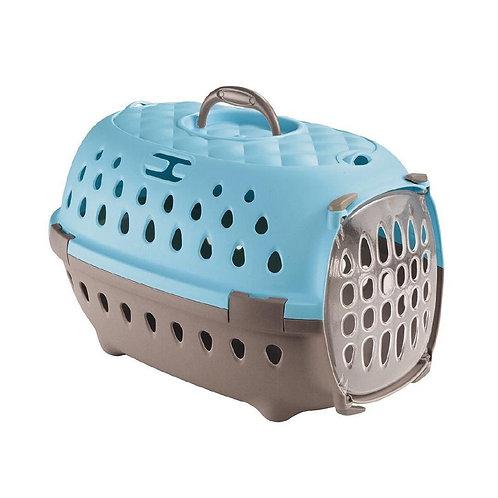 Stefanplast Travel Chic Carriers -Caribbean Blue. Handy and elegant pet carrier