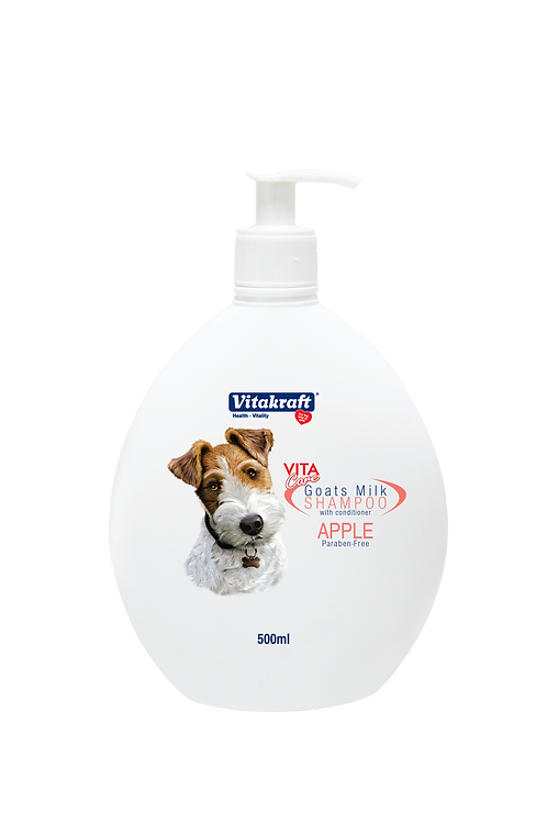 Vitakraft Goat Milk Shampoo - Apple: 5 L