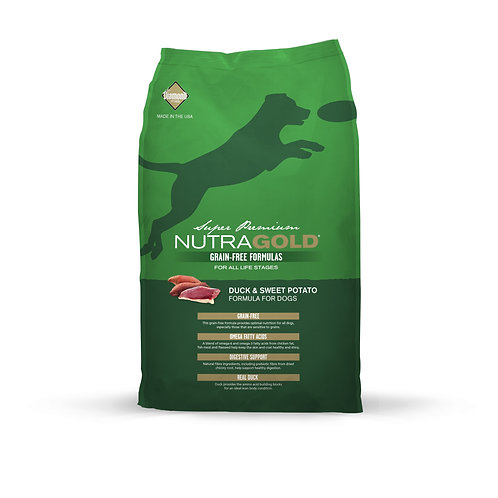 NutraGold :Grain-Free Duck and Sweet Potato 2.25Kgs