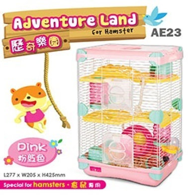 Alice Adventure Land  Hamster -Double Deck- PINK