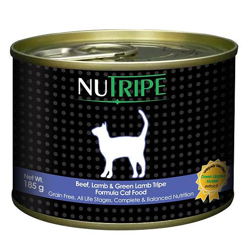 Nutripe:Beef,Lamb&Green Lamb Tripe(185 g) : 24Cans