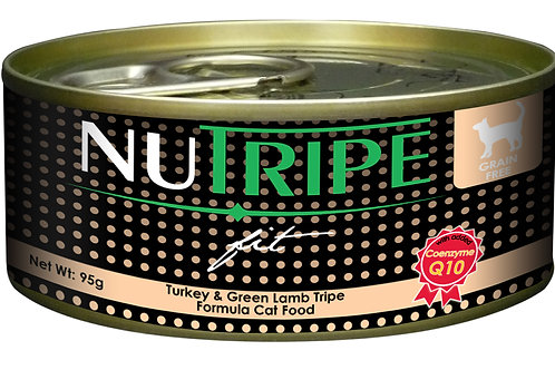 Nutripe:Turkey & Green Lamb Tripe (95 g):24 Cans