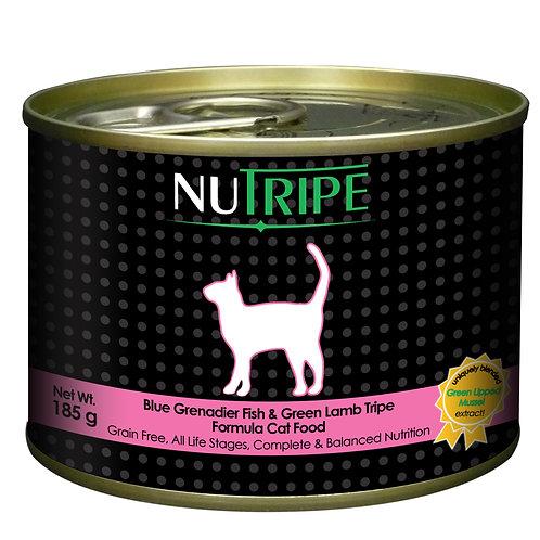 Nutripe: Fish &Green Lamb Tripe(185 g): 24 Cans