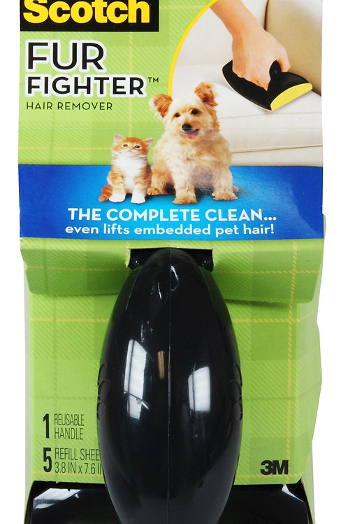3M Fur Fighter Hair Remover for Upholstery: Refill