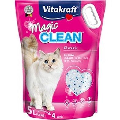 Vitakraft Magic Clean Classic Cat Litter 5L