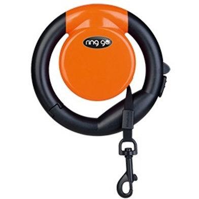 Vitakraft Ring Go Retractable Leash: Orange
