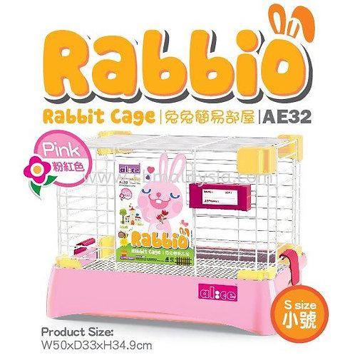 AE32 Alice Rabbio Rabbit Cage (Small) - Pink