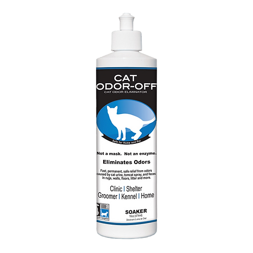 Thornell Cat Odor-Off Soaker(16 oz)474 ml: 2 Items