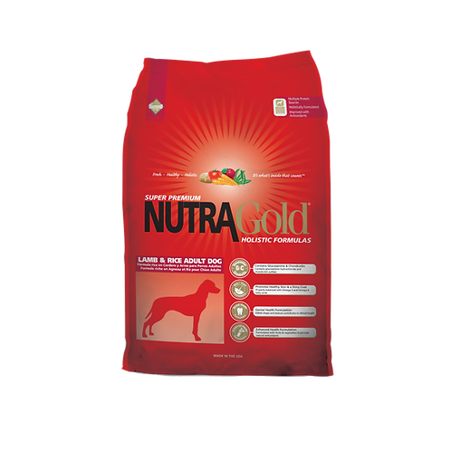 NutraGold: Lamb & Rice Adult Dog (15 kg)