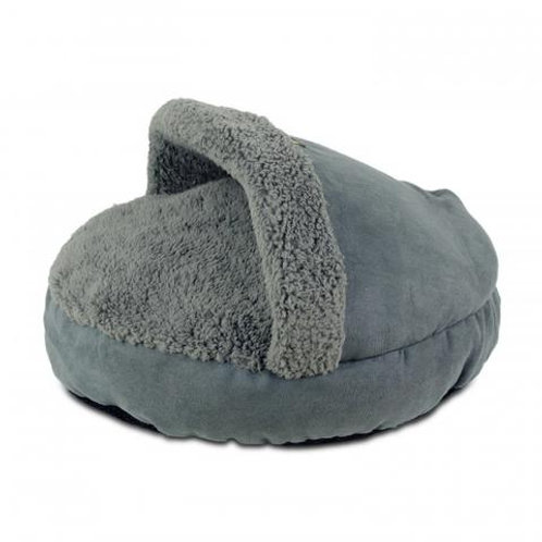 AFP Lambswool Cosy Snuggle Bed-Grey