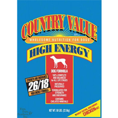 Country Value High Energy (50 lb) 22.6 kg