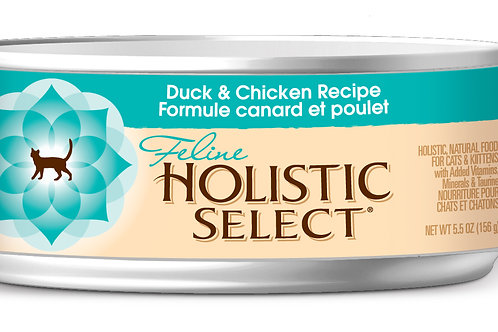Holistic Select:Duck & Chicken(156 gm) :10 Cans