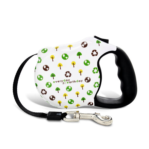 Avant Garde Retractable Leash- Greenday (M)