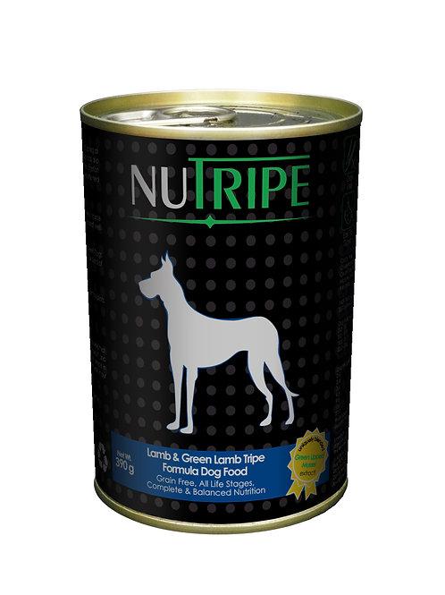 Nutripe:Lamb & Green Lamb Tripe (390g) x 24 Cans