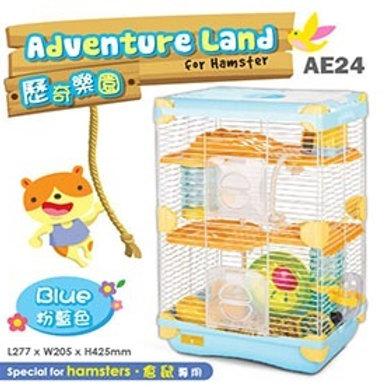 Alice Adventure Land  Hamster -Double Deck- BLUE