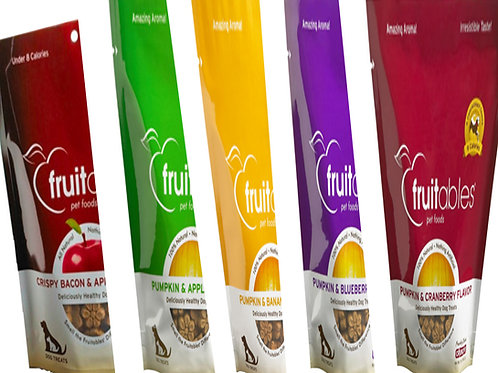 DOG : Fruitables Treats - BUY 4 ; 1 FREE - 15% Off