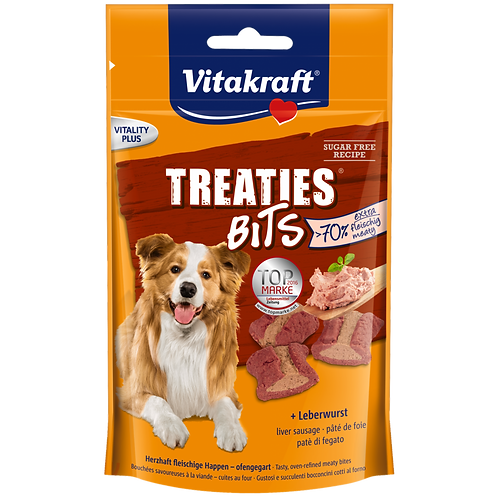 Vitakraft Dog Treaties Bits Liver Sausage 120g x 6