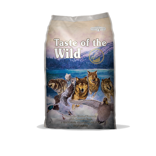 Taste of the wild:Wetlands Wild Fowl Dry Food(5lb)