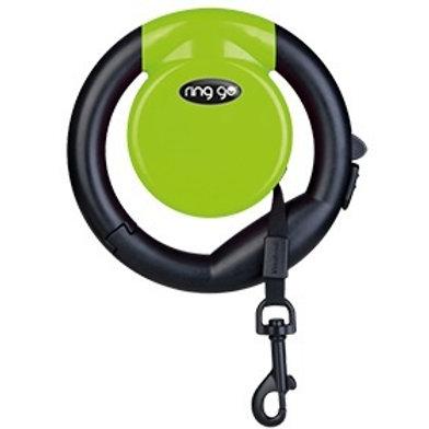 Vitakraft Ring Go Retractable Leash: Green