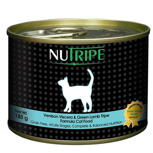 Nutripe: Venison&Green Lamb Tripe :185 gm-24 Cans