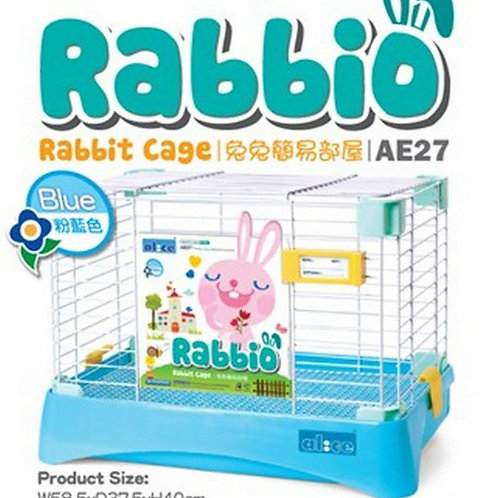 AE27 Alice Rabbio Rabbit Cage - Blue -Medium