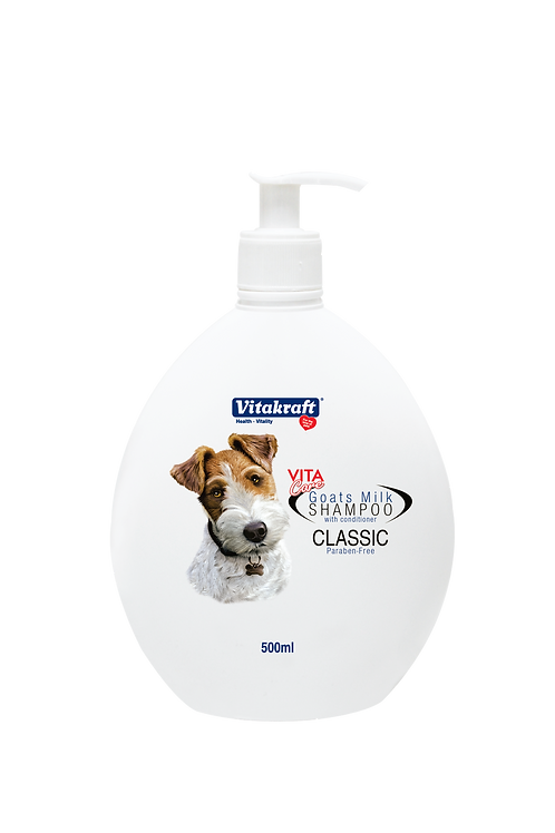 Vitakraft Goat Milk Shampoo - CLASSIC: 500 ml