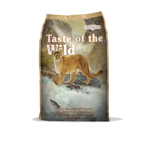 Taste of the wild:Canyon River Dry Food (15 lbs)
