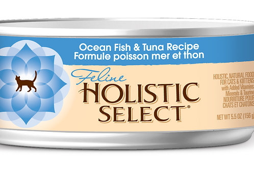 Holistic Select:Ocean Fish &Tuna (156 gm):10 Cans