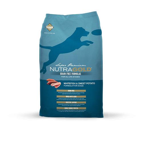 NutraGold:GrainFree Whitefish&Sweet Potato(13.6kg)