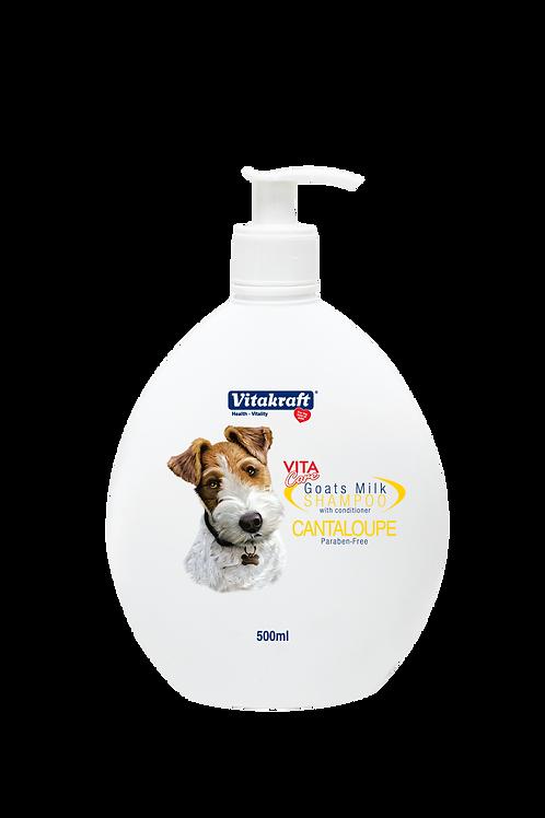 Vitakraft Goat Milk Shampoo -Cantaloupe: 500ml