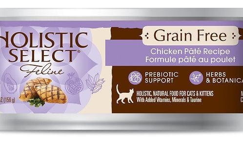 HolisticSelect:GrainFree:Chicken Pate(156gm)10 Can