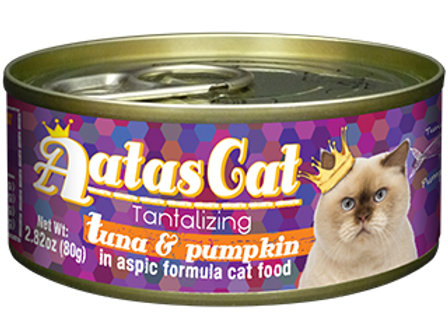 Aatas Cat: Tantalizing Tuna & Pumpkin (80g)-Bundle of 24 Tins
