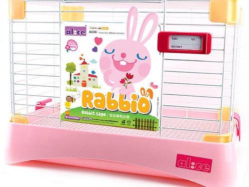 AE26 Alice Rabbio Rabbit Cage - Pink -Medium