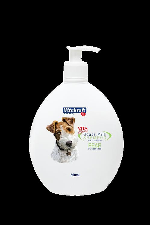 Vitakraft Goat Milk Shampoo - Pear: 500 ml