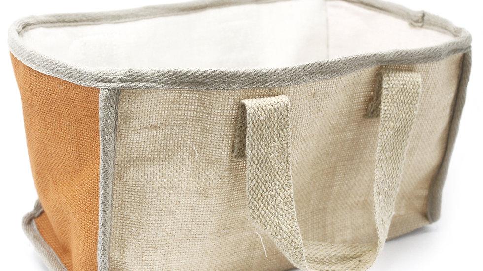 Turmeric Large Shopping Basket - 33x18x20cm