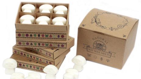 White Musk Box of 6 Wax Melts