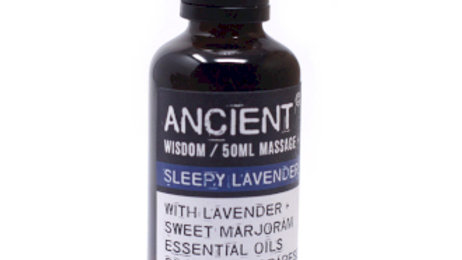 Sleepy Lavender Massage Oil - 50ml