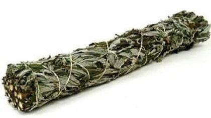 Black Sage 10cm Smudge Stick