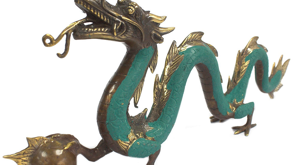 Fengshui - Large Dragon with Ball - 45cm