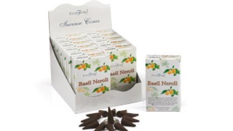 Stamford Basil and Neroli Incense Cones