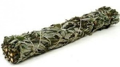 Black Sage 15cm Smudge Stick