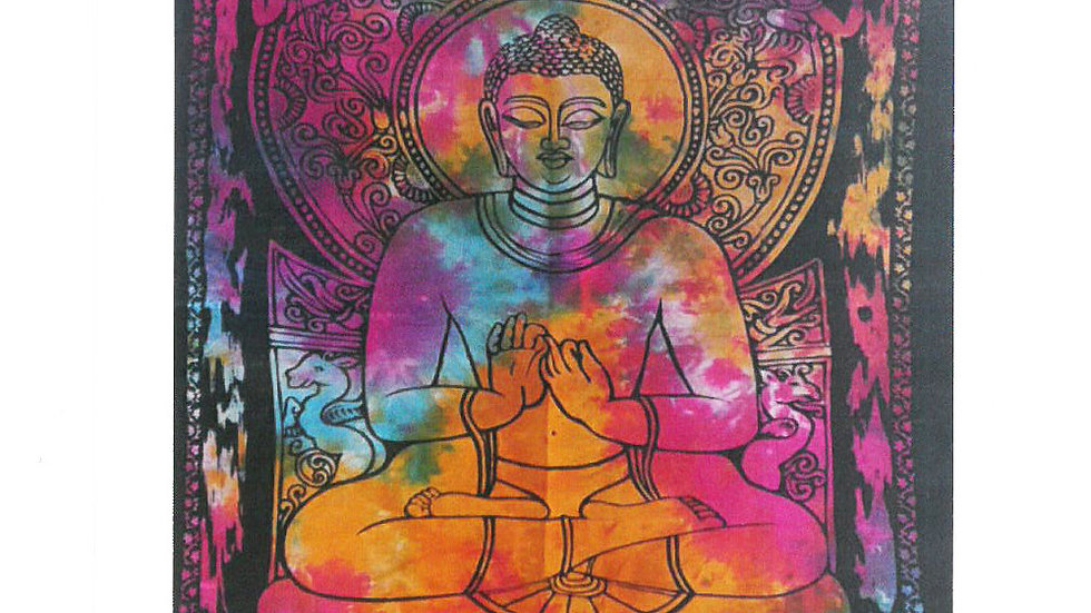Peaceful Buddha Cotton Wall Art