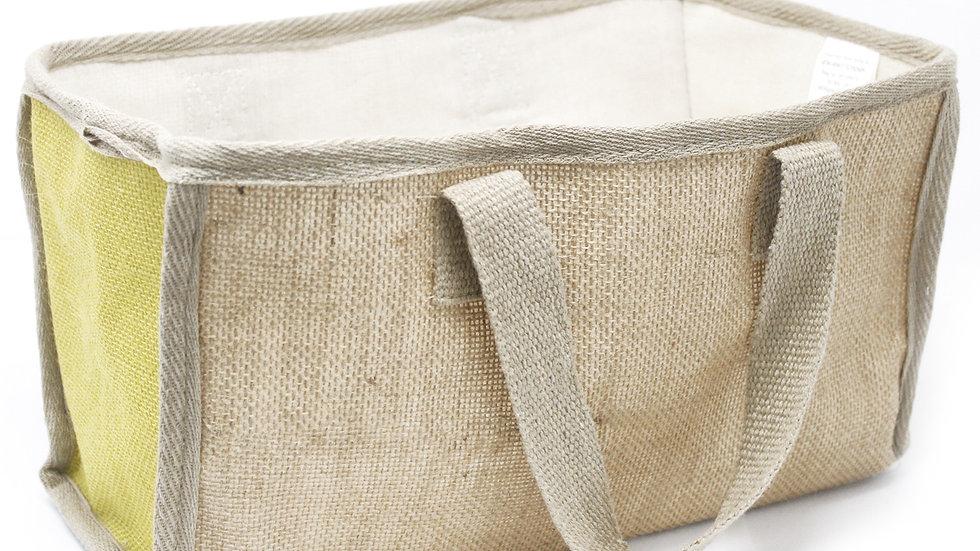 Olive Large Shopping Basket - 33x18x20cm
