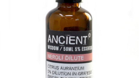 Neroli Dilute 50ml 5 Percent Essential Oil