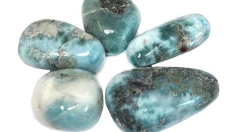 1 x Larimar Premium Tumble Stone