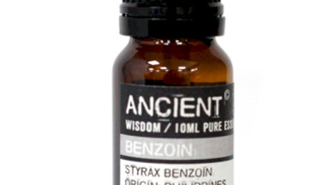 Benzoin Pure Essential Oil (Dilute/Dpg) 10 ml