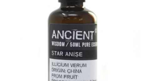 Aniseed China Star (Star Anise) 50ml Pure Essential Oil