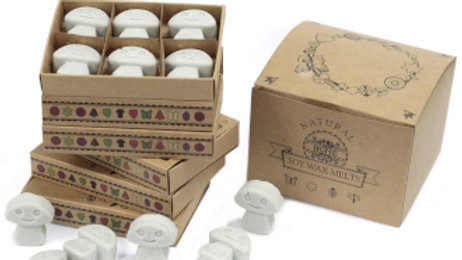Dark Patchouli Box of 6 Wax Melts
